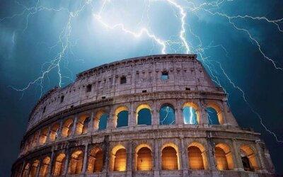 Tempestade e Terramoto em Roma