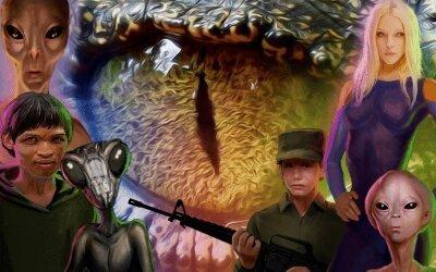 "Corey Goode – ""Resumo do Reconhecimento Reptiliano"""